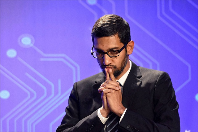 CEO Google, Sundar Pichai.