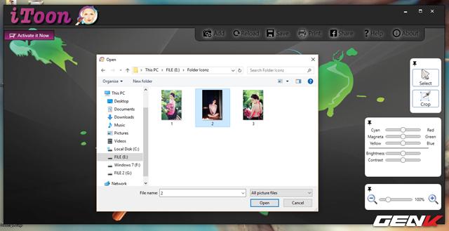 """Để tiến hành chỉnh sửa ảnh, bạn hãy nhấp vào tùy chọn """"Add"""" và điều hướng đến bức ảnh bạn muốn."""