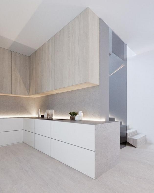Gam màu nhẹ nhàng cùng sự tối giản về đường nét khiến không gian theo phong cách Minimalist rất trang nhã và linh hoạt.