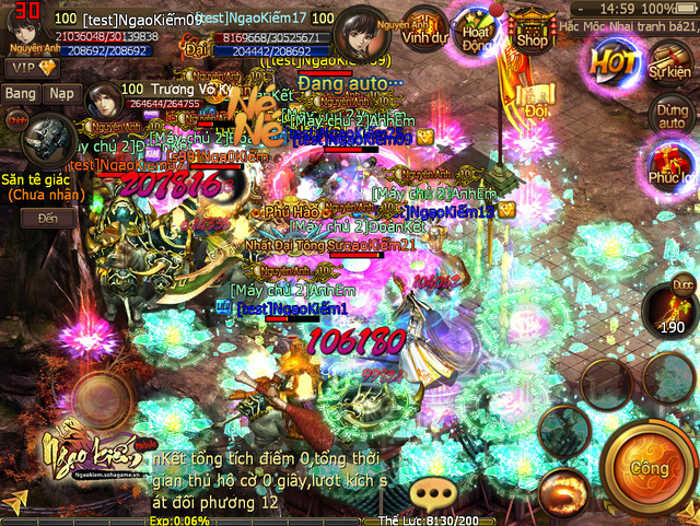 Ngạo Kiếm Mobile là một tên tuổi lớn trong làng game Việt, nếu như họ hé lộ về Phong Lăng Độ thì có vẻ như việc đưa tính năng này lên gMO có tới 90% khả năng trở thành sự thật