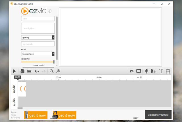 Bên cạnh chức năng ghi hình chính, Ezvid còn hỗ trợ người dùng biên tập lại video với các lựa chọn chỉnh sửa đơn giản và hữu ích, kèm theo đó là khả năng bổ sung slide, thay đổi tốc độ phát, thêm chú thích.
