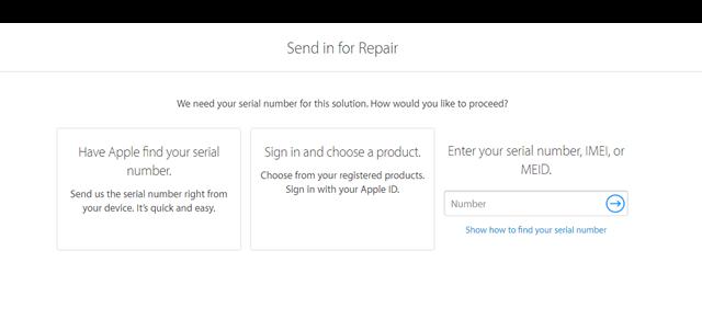 Bây giờ, bạn chỉ cần nhập số IMEI hoặc Serial vào ô trống theo yêu cầu và chờ kết quả là xong.