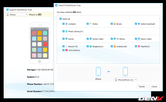 Đồng bộ dữ liệu qua lại giữa 2 chiếc iPhone chưa bao giờ đơn giản hơn với công cụ này - Ảnh 8.