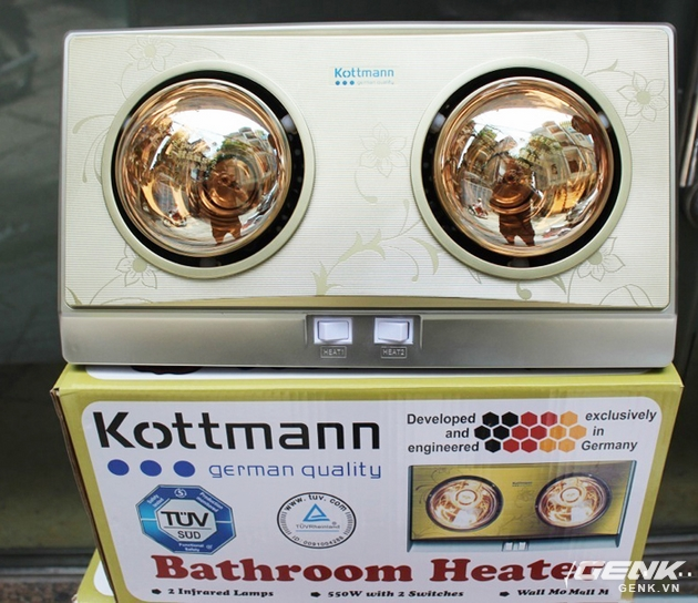 Chiếc đèn sưởi Kottmann hàng nhái