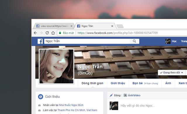 """Lập tức, trang Facebook của """"kẻ lạ mặt"""" hay ghé thăm """"nhà"""" của bạn nhất sẽ xuất hiện.."""