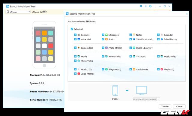 Đồng bộ dữ liệu qua lại giữa 2 chiếc iPhone chưa bao giờ đơn giản hơn với công cụ này - Ảnh 9.