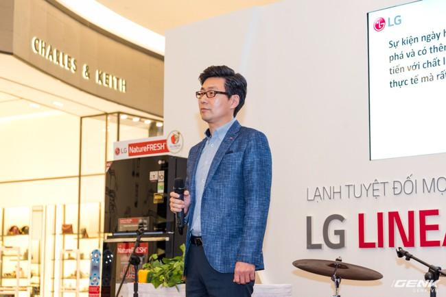 LG Electronics giới thiệu dòng tủ lạnh công nghệ Inverter Linear tại thị trường Việt Nam: tiết kiệm điện hơn, giảm độ ồn, làm lạnh nhanh hơn 35% - Ảnh 15.
