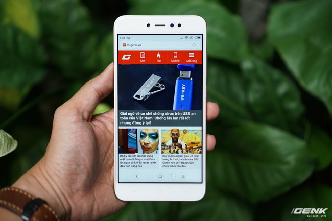 Trải nghiệm nhanh Xiaomi Redmi Note 5A Prime: lựa chọn giá rẻ phân khúc 4 triệu đồng cho sinh viên - học sinh - Ảnh 4.