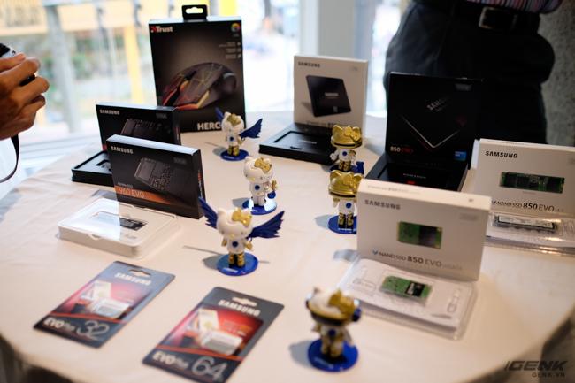 Hãng cũng hợp tác với Samsung để trưng bày và giới thiệu các sản phẩm ổ cứng hỗ trợ tối đa cho việc chơi game.