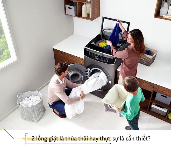 Flex Wash - chiếc máy giặt Inception với những đột phá ấn tượng - Ảnh 6.