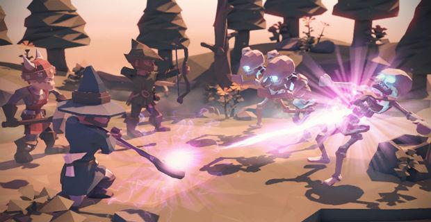 For the King - một tựa game Kickstarter với số vốn được ủng hộ gấp đôi mong đợi.