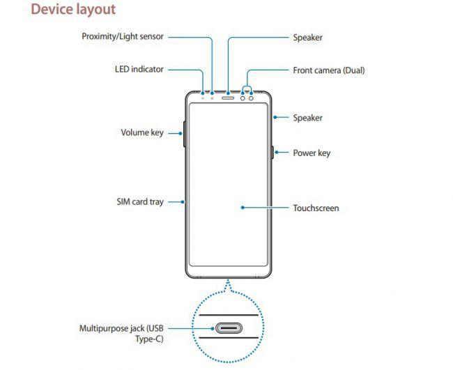Rất có thể Galaxy A8 sẽ dùng camera kép mặt trước. Ảnh: Samsung.
