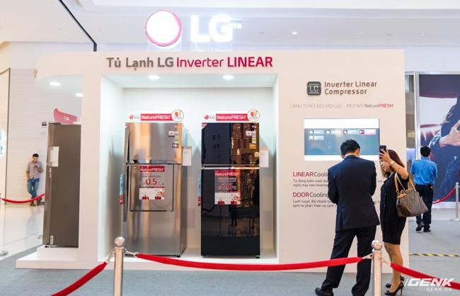 LG Electronics giới thiệu dòng tủ lạnh công nghệ Inverter Linear tại thị trường Việt Nam: tiết kiệm điện hơn, giảm độ ồn, làm lạnh nhanh hơn 35% - Ảnh 1.