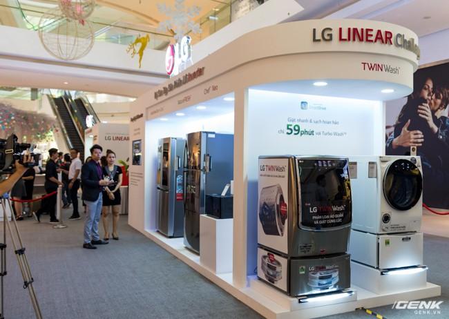 LG Electronics giới thiệu dòng tủ lạnh công nghệ Inverter Linear tại thị trường Việt Nam: tiết kiệm điện hơn, giảm độ ồn, làm lạnh nhanh hơn 35% - Ảnh 13.