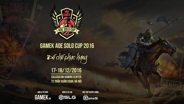 GameK solo Cup 2017 sẽ tiếp tục với những thể loại solo mới?