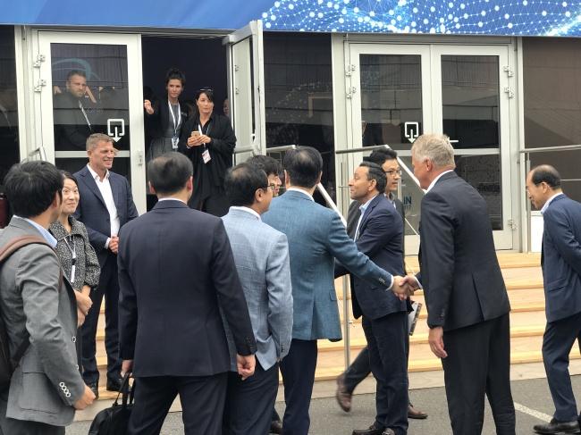Samsung đã có cuộc gặp với Harman Internaltional