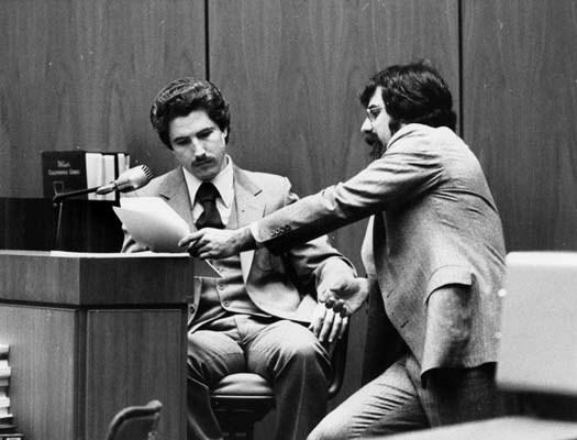Kenneth Bianchi tại tòa án xét xử.