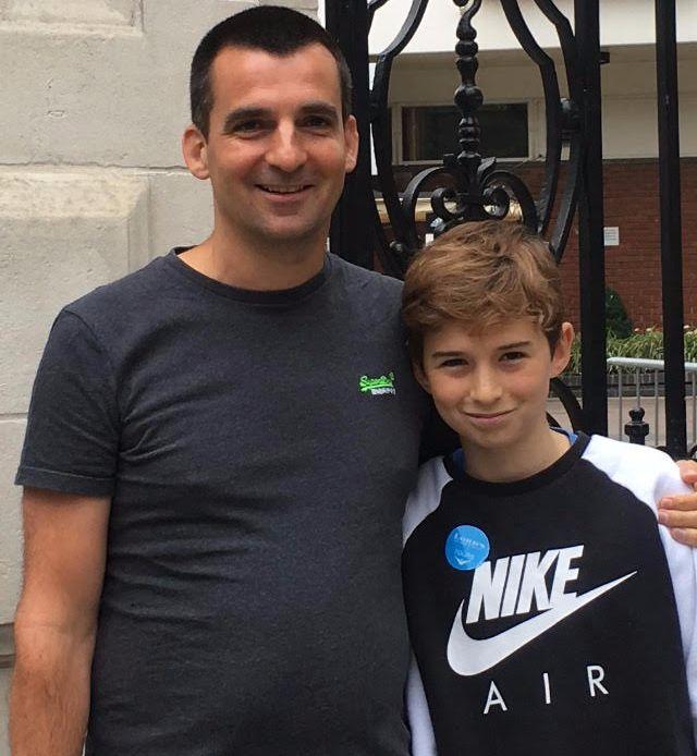 Nick Herbert và cậu con trai 13 tuổi hay phớt lờ tin nhắn của bố