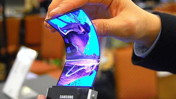 Màn hình cong thuộc dự án Project Valley của Samsung.