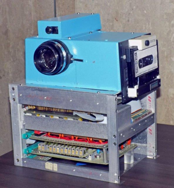 Chiếc máy ảnh kỹ thuật số đầu tiên trên thế giới