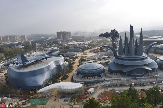 Công viên thực tế ảo khổng lồ của Trung Quốc chuẩn bị đi vào hoạt động: Rộng hơn 800 héc-ta, chi phí đầu tư 1,5 tỷ USD - Ảnh 1.