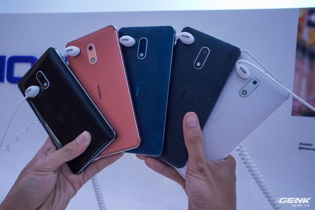 5 màu sắc có trên Nokia 6.