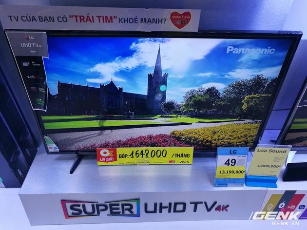 Kích thước của một chiếc tivi sẽ quyết định nó có phù hợp với không gian nhà bạn không.