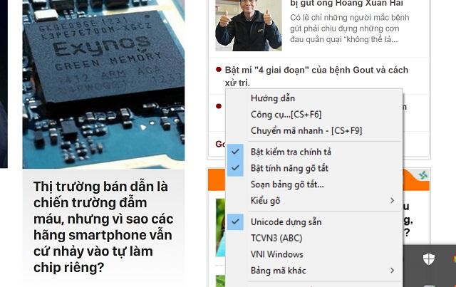 Font chữ của Unikey và nhiều phần mềm khác sẽ gặp hiện tượng mờ.