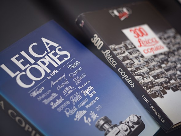 Thậm chí ở đây có sẵn rất nhiều cuốn sách viết về các sản phẩm từng copy máy ảnh Leica của họ...