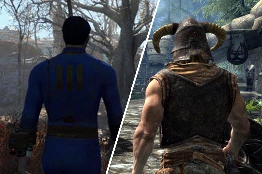 Ngôi vương của Skyrim cuối cùng cũng đã bị lật đổ bởi chính người anh em Fallout 4.