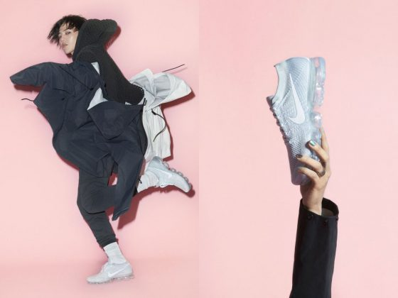 G-Dragon và Nike Air Vapormax