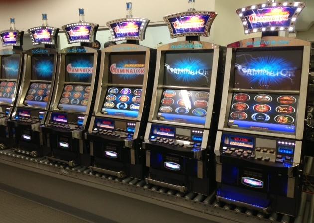 Những chiếc máy đánh bạc của hãng Novomatic.