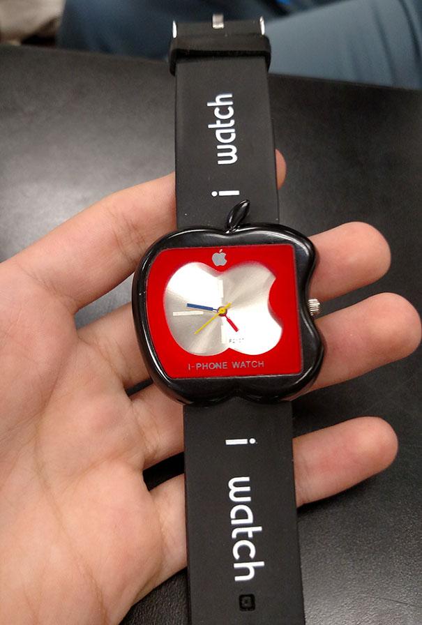Đồng hồ quả táo Tầu trị giá 600 Mỹ kim