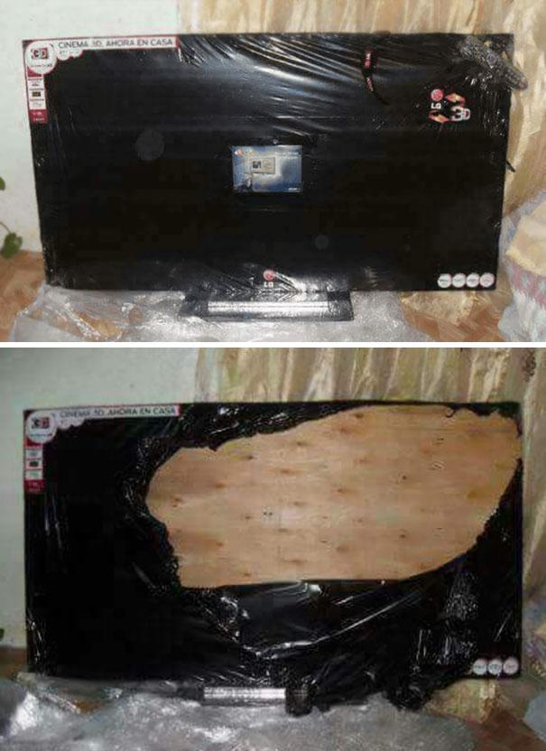 Ngày xưa có cá gỗ, giờ đã có TV gỗ. Chỉ cần chớp mắt là được xem ngay Kong: Skull Island 4K phụ đề tiếng Trung Quốc