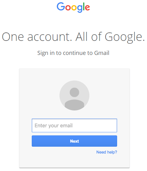 Hacker từng giả mạo trang đăng nhập Gmail để đánh cắp tài khoản người dùng.