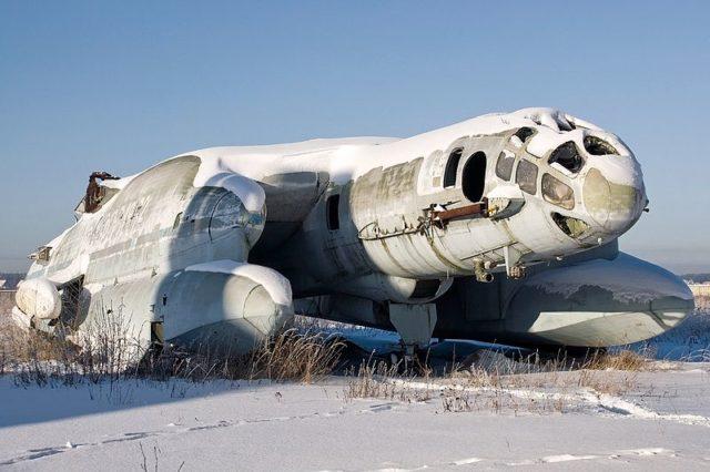 VVA-14 trở thành đống hoang phế tại Bảo tàng.