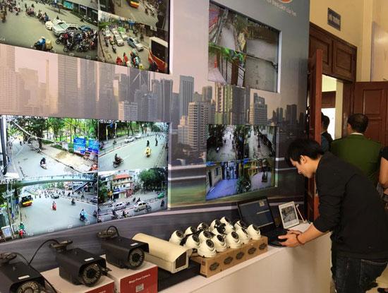 Viettel triển khai kết nối các camera an ninh trên địa bàn Hà Nội
