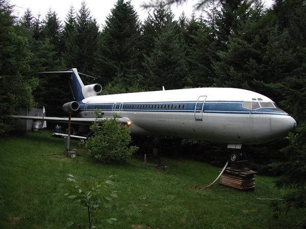 Phía ngoài chiếc máy bay