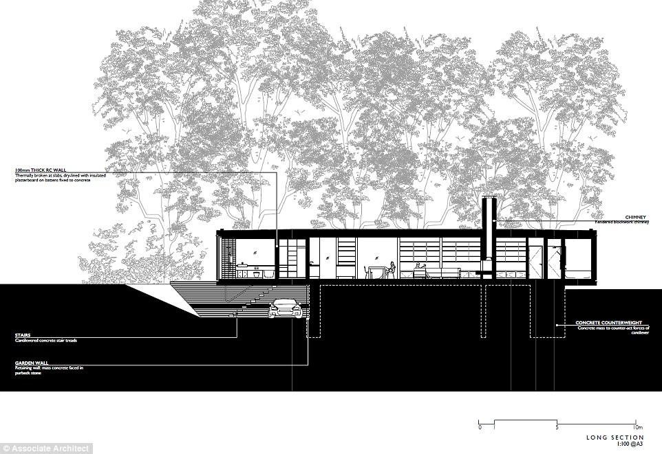 Văn phòng Ström Architects đến từ Lymington, Hampshire đã mang lối thiết kế hiện đại này đến với vợ chồng nhà Denton