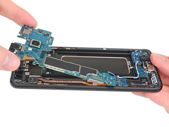 iFixit mổ xẻ Samsung Galaxy S8/S8+: Pin được bố trí tương ...