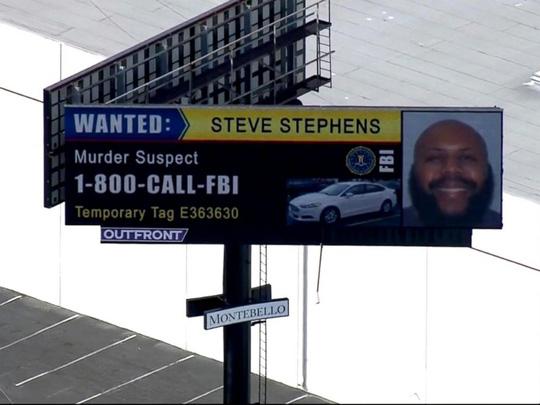 Lệnh truy nã toàn quốc đối với nghi phạm Steve Stephens