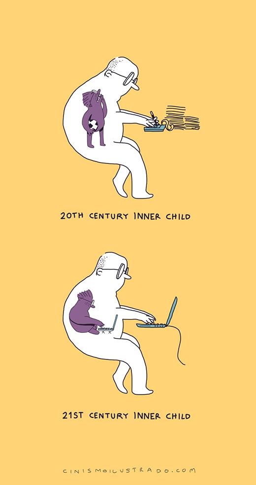 Sự ảnh hưởng của công nghệ không chỉ tác động đến cuộc sống hiện tại mà còn cả trong tâm hồn của mỗi người
