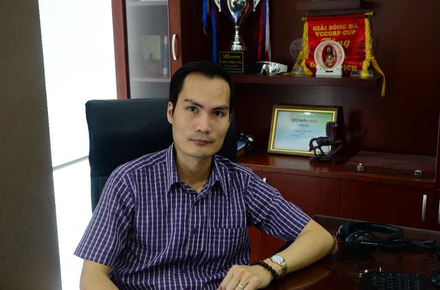 Anh Nguyễn Văn Tuấn, Phó TGĐ VCCorp phụ trách khối Thương mại điện tử.