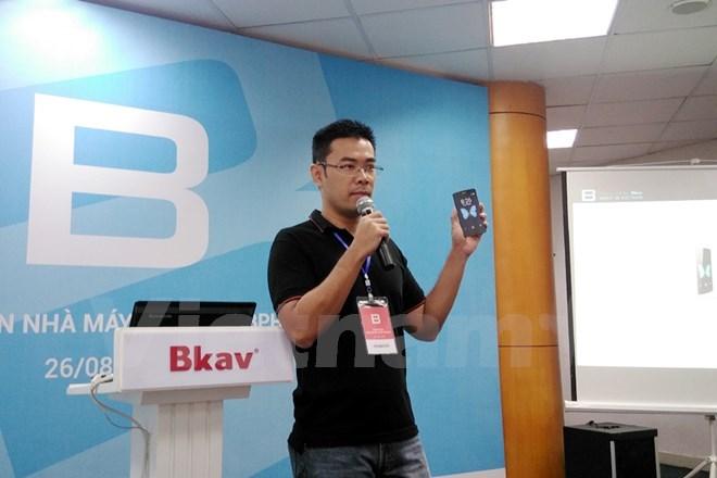 Bphone của Bkav từng là sản phẩm thu hút rất nhiều sự quan tâm của giới công nghệ Việt. (Ảnh: Vietnam+)