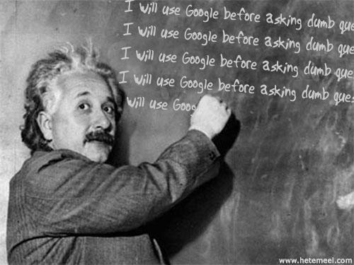 Tôi sẽ sử dụng Google trước khi hỏi những câu ngu ngốc - Nhưng như vậy có đáng không?