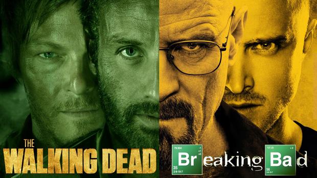 Rất có thể, hai siêu phẩm truyền hình về Walter White (Breaking Bad) và đại dịch zombie (Walking Dead) được đặt cùng một vũ trụ điện ảnh