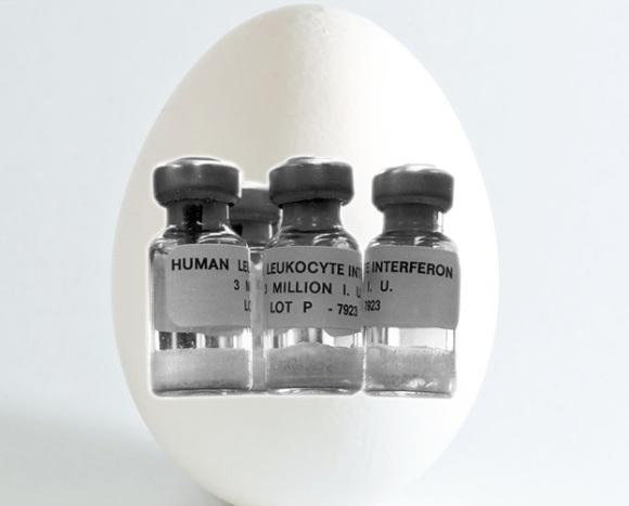 Interferon beta - nhóm các protein tự nhiên được sản xuất bởi các tế bào của hệ miễn dịch ở hầu hết các động vật nhằm chống lại các tác nhân ngoại lai như virus, vi khuẩn, ký sinh trùng và tế bào ung thư