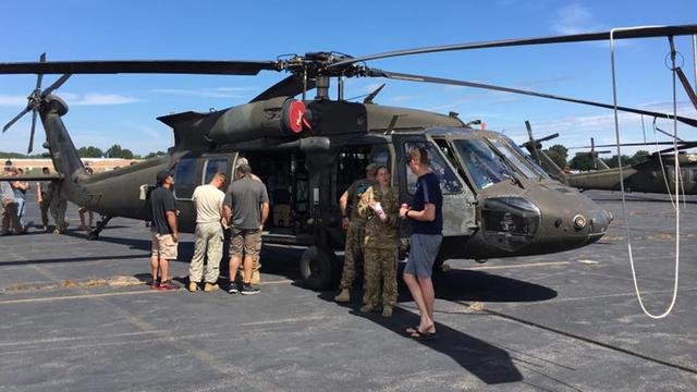 Trực thăng UH-60 Black Hawk - một trong hai phương tiện của vụ tai nạn.