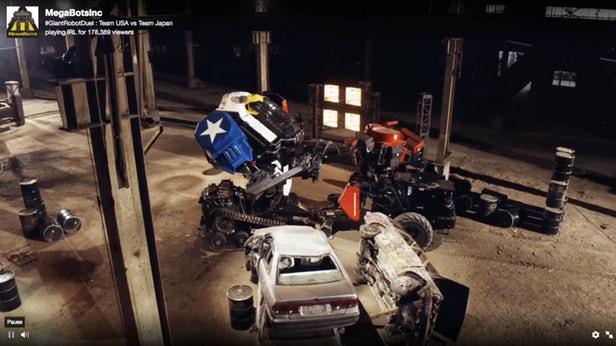 Mỹ chiến thắng Nhật Bản trong đại chiến Robot khổng lồ - Ảnh 4.