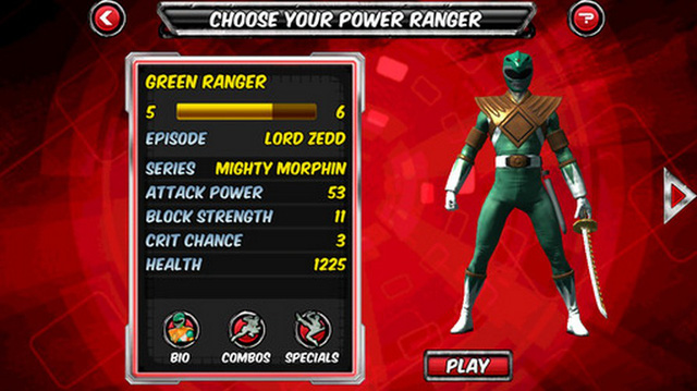 Power Rangers Legends - Trở về thơ ấu với 5 anh em siêu nhân